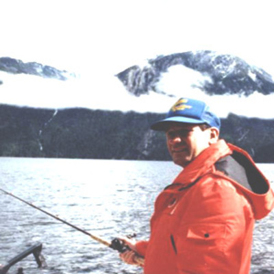 Jigging for salmon