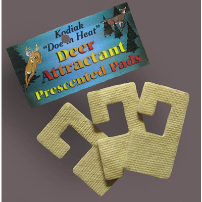 Deer attractant PADS